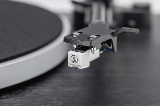 Dual DT 450 Plattenspieler Riemenantrieb Schwarz