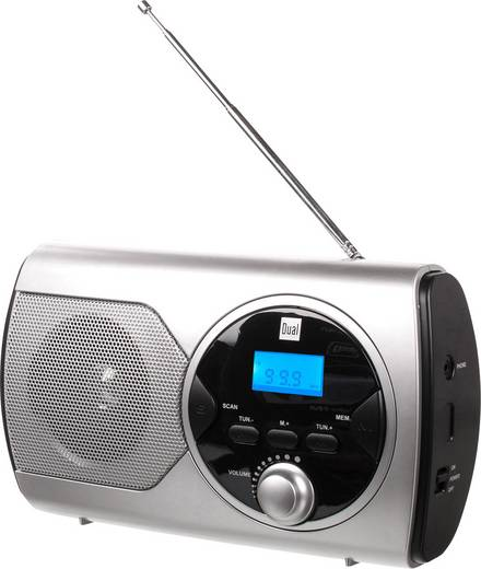 UKW Taschenradio Dual P 10 UKW Silber