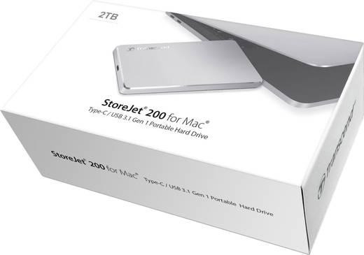 Transcend StoreJet M200 Externe Festplatte 6.35 cm (2.5 Zoll) 2 TB Aluminium USB 3.1