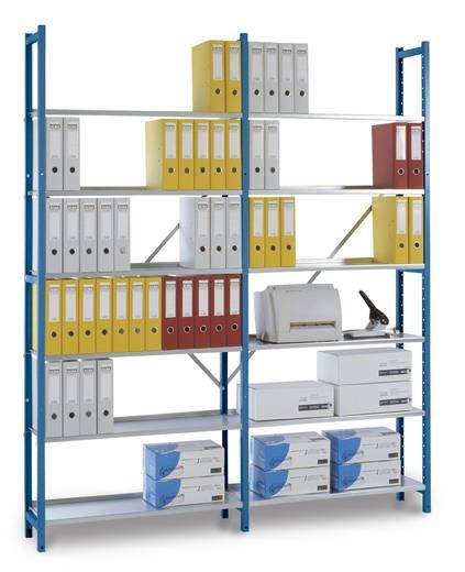 Registra-Längsverbindung, verzinkt 2 Stück für Doppel-Anbauregal 930 (954mm) lang, mit Zubehör