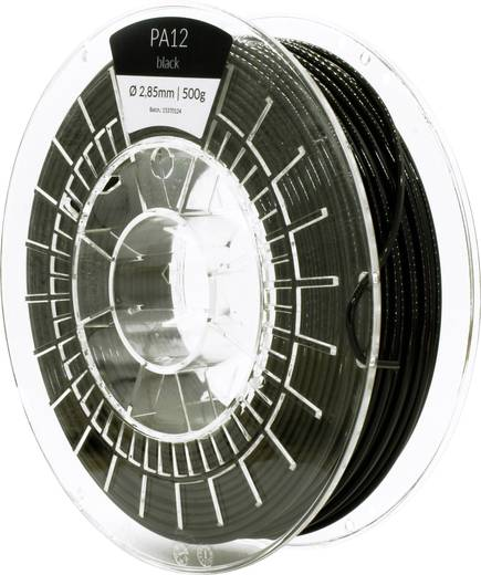Filament APRINTAPRO 212152 PA12 flexibel 2.85 mm Schwarz 500 g