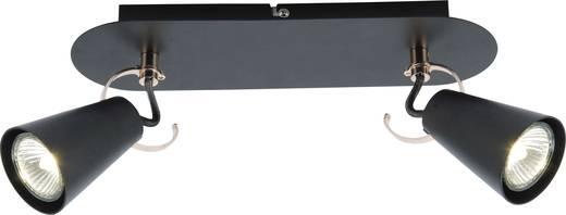 Deckenstrahler LED GU10 14 W Brilliant Saso 62729/76 Schwarz