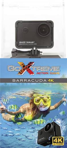 GoXtreme Barracuda 4K 20201 Action Cam 4K, Wasserfest, WLAN
