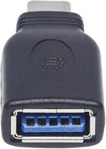 Manhattan USB 3.1 Adapter [1x USB 3.1 Stecker C - 1x USB 3.1 Buchse A] Adapter USB-C Stecker auf USB A Buchse USB 3.1, G
