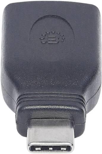 Manhattan USB Adapter [1x USB 3.1 Stecker C - 1x USB 3.1 Buchse A] Adapter USB-C Stecker auf USB A Buchse USB 3.1, Gen 1