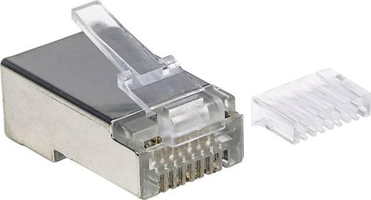 Intellinet 90er-Pack Cat6 RJ45-Modularstecker STP 2-Punkt ...