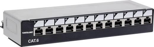 12 Port Netzwerk-Patchpanel Intellinet Abschließbares 12Port Cat6 Patchpanel ungeschirmt UTP 1 HE CAT 6 1 HE