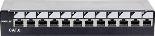 Intellinet 12 Port Netzwerk-Patchpanel CAT 6 1 HE