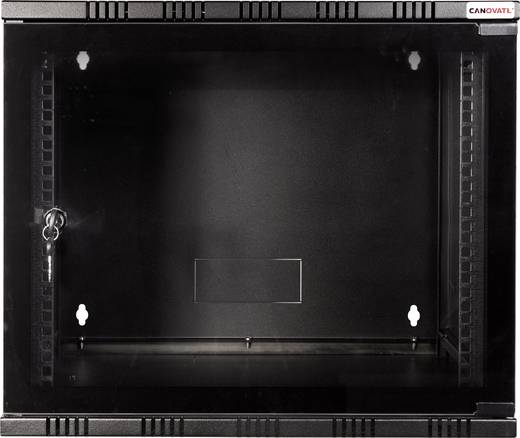 "19 Zoll Wandgehäuse LogiLink 19"" WALLMOUNT SOHO BOX 6U 540*400, BLACK, FLATPACK (B x H x T) 540 x 323 x 400 mm 6 HE Sch"