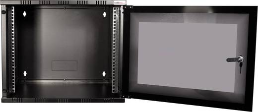 "LogiLink 19"" WALLMOUNT SOHO BOX 6U 540*550, BLACK, FLATPACK 19 Zoll Wandgehäuse (B x H x T) 540 x 323 x 550 mm 6 HE Sch"