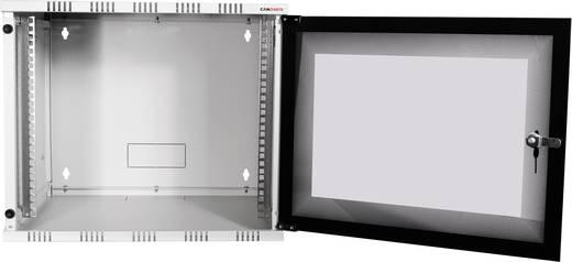 "LogiLink 19"" WALLMOUNT SOHO BOX 6U 540*550, GREY, FLATPACK 19 Zoll Wandgehäuse (B x H x T) 540 x 323 x 550 mm 6 HE Lich"