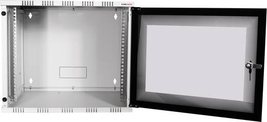 "19 Zoll Wandgehäuse LogiLink 19"" WALLMOUNT SOHO BOX 9U 540*400, GREY, FLATPACK (B x H x T) 540 x 456 x 400 mm 9 HE Lich"