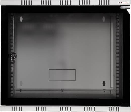 "LogiLink 19"" WALLMOUNT SOHO BOX 9U 540*400, GREY, FLATPACK 19 Zoll Wandgehäuse (B x H x T) 540 x 456 x 400 mm 9 HE Lich"