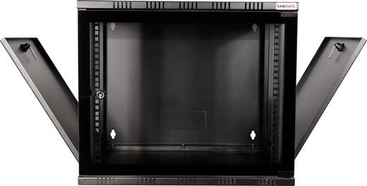 "LogiLink 19"" WALLMOUNT SOHO BOX 12U 540*400, BLACK, FLATPACK 19 Zoll Wandgehäuse (B x H x T) 540 x 589 x 400 mm 12 HE S"