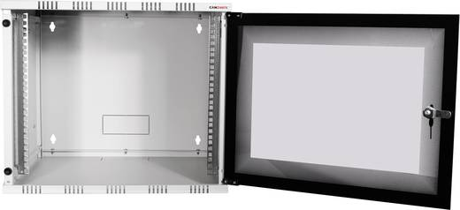 "LogiLink 19"" WALLMOUNT SOHO BOX 15U 540*550, GREY, FLATPACK 19 Zoll Wandgehäuse (B x H x T) 540 x 723 x 550 mm 15 HE Li"