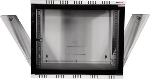 "19 Zoll Wandgehäuse LogiLink 19"" WALLMOUNT SOHO BOX 15U 540*550, GREY, FLATPACK (B x H x T) 540 x 723 x 550 mm 15 HE Li"
