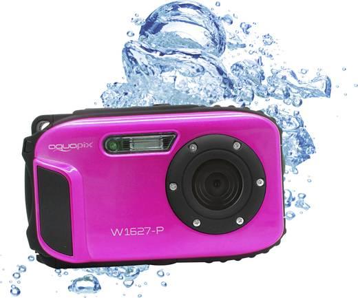 Easypix W1627 Pink Digitalkamera 16 Mio. Pixel Pink Unterwasserkamera, Stoßfest, Staubgeschützt