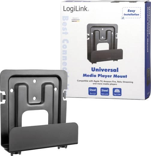 AV-Geräteträger Passend für Serie: Universal LogiLink Schwarz