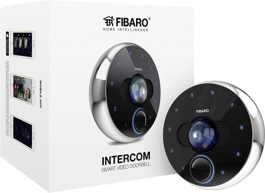 fibaro fgic 001 video t rsprechanlage wlan bluetooth lan komplett set schwarz kaufen. Black Bedroom Furniture Sets. Home Design Ideas
