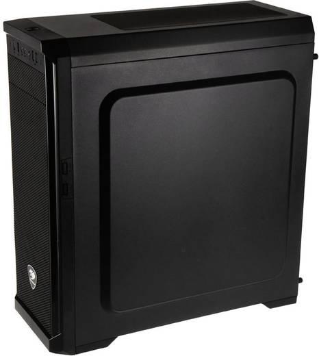 Midi-Tower Gaming-Gehäuse Cougar MX330-X Schwarz 1 vorinstallierter Lüfter, Seitenfenster, Staubfilter