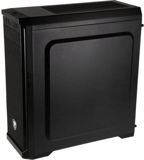Midi-Tower Gaming-Gehäuse Cougar MX330 Schwarz 1 vorinstallierter Lüfter, Seitenfenster, Staubfilter