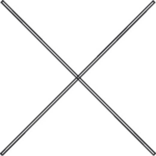 Aktenregal-Diagonale extra verzinkt, 1390mm lang
