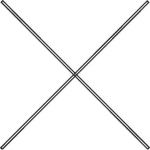 Diagonalverstrebung Stahl verzinkt Verzinkt Manuflex RP2010