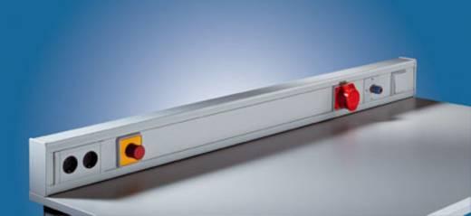 Manuflex ZB3696 Frontabdeckung 500mm aus PVC lichtgrau