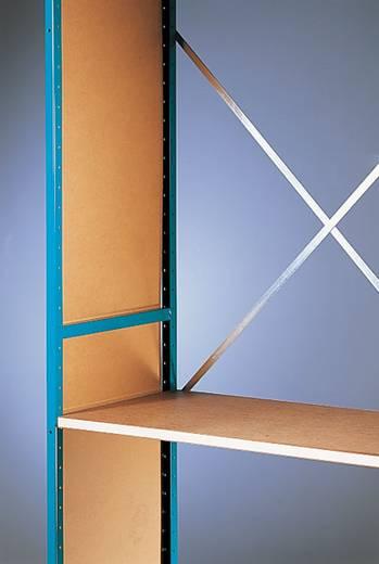 Regalseitenwand (B x H x T) 400 x 2500 x 6 mm Hartfaser Manuflex RZ0162