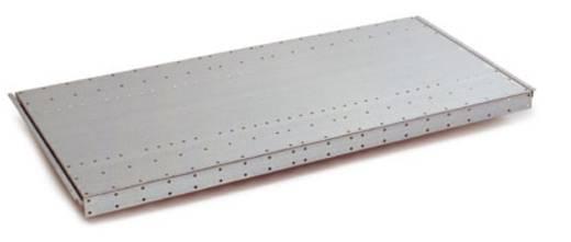 Fachboden (B x H x T) 1000 x 40 x 600 mm Stahlblech pulverbeschichtet Alusilber Stahlblechboden Manuflex RF0154.9006