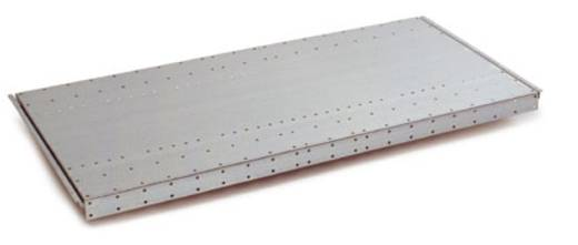 Fachboden (B x H x T) 1000 x 40 x 600 mm Stahlblech pulverbeschichtet Licht-Grau Stahlblechboden Manuflex RF0154.7035