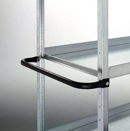 Schiebebügel Stahl pulverbeschichtet Grau-Grün Manuflex TV0313.0001