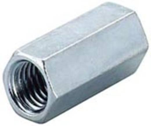 Verlängerungsmuffe (L) 25 mm M6 Stahl feuerverzinkt Fischer 14319 100 St.