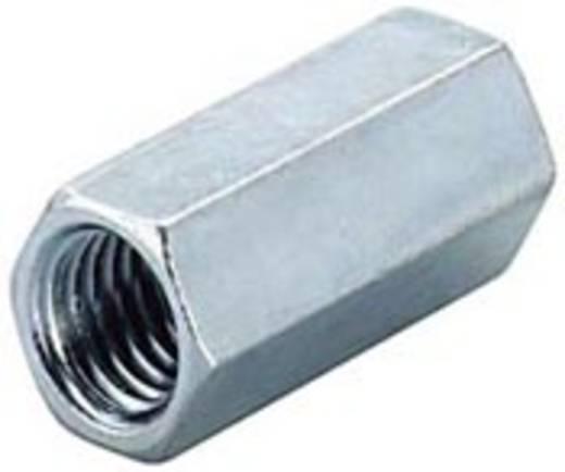 Verlängerungsmuffe (L) 30 mm M10 Stahl Fischer 505541 100 St.
