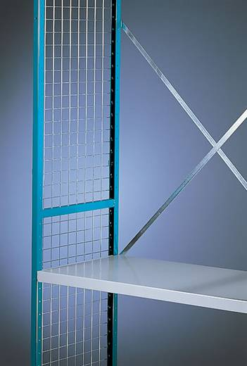 Regalseitenwand (B x H x T) 500 x 2000 x 10 mm Eisendraht verzinkt Verzinkt Manuflex RZ0103
