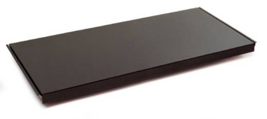 Fachboden (B x H x T) 1000 x 40 x 600 mm Stahlblech pulverbeschichtet Brillant-Blau Stahlblechboden Manuflex RF0154.5007