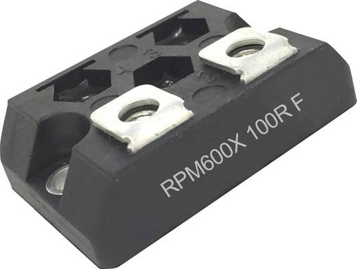 NIKKOHM RPM600X82R0JZ00 Hochlast-Widerstand 82 Ω Schraubanschluss SOT227 600 W 5 % 1 St.