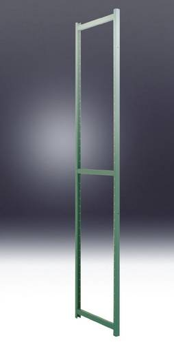 Regalrahmen Stahlblech pulverbeschichtet Manuflex RP0032.5021 Wasserblau