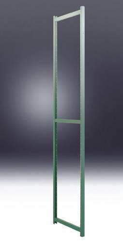 Regalrahmen Stahlblech pulverbeschichtet Manuflex RP0035.0001 Grau-Grün