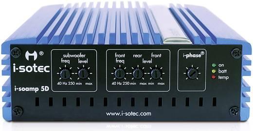 5-Kanal Digital Endstufe 400 W i-sotec 5D AD-0145 Passend für=Mercedes Benz, Opel, Renault, Dacia