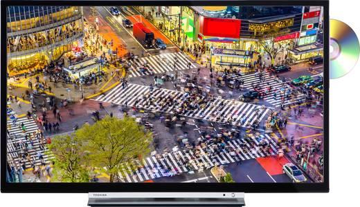 Toshiba 32D3763DA LED-TV 81 cm 32 Zoll EEK A+ (A++ - E) DVB-T2, DVB-C, DVB-S, HD ready, DVD-Player, Smart TV, WLAN, CI+