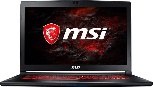 MSI Gaming GL72M 7REX-1442 43.9 cm (17.3 Zoll) Gaming Notebook Intel Core i7 16 GB DDR4-RAM 1024 GB HDD 256 GB SSD Nvid