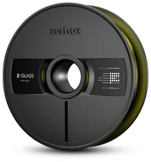 Zortrax FIZO-ZGM3-NATR Filament Z-GLASS 1.75 mm Transparent 2 kg