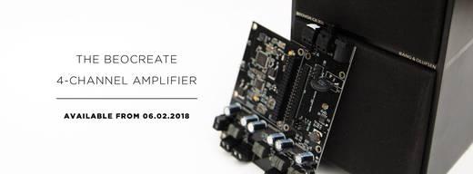 Raspberry Pi® Soundkarte Schwarz Hifiberry-Beocreate Raspberry Pi® 2 B, Raspberry Pi® 3 B, Raspberry Pi® B+, Raspberry P