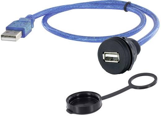 USB 2.0 Typ A Chassisbuchse, Einbau 1310-1018-04 M22 encitech Inhalt: 1 St.