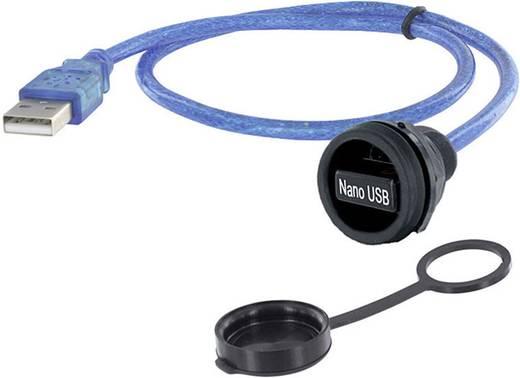 USB 2.0 Stecker A Chassisbuchse, Einbau 1310-1032-03 M22 encitech Inhalt: 1 St.