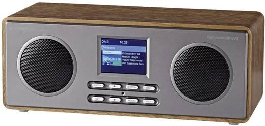 DAB+ Tischradio Albrecht DR 880 AUX, DAB+, UKW Holz
