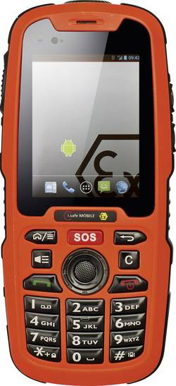 Image of i.safe MOBILE IS320.1 eigensicheres Handy für ATWX Zone 1/21 6.1 cm (2.4 Zoll) IP68, Wasserdicht, Staubdicht,