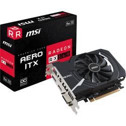 Grafická karta MSI AMD Radeon RX 560 Aero ITX Overclocked 4 GB GDDR5 RAM PCIe x16 HDMI™, DVI, DisplayPort