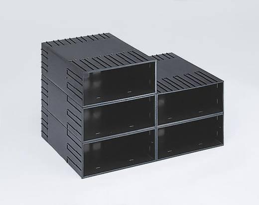 Gehäuse für Schubladensystem (B x H x T) 242 x 102 x 345 mm Schwarz 1657844 1 St.
